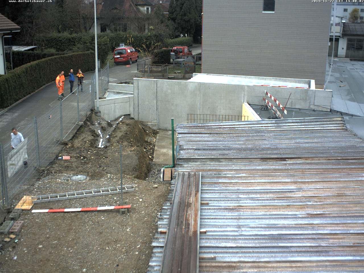 Neubau 2 EFH mit Einstellhalle Ringstrasse